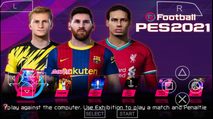 eFootball PES 2021 ISO PSP – PPSSPP Android Download