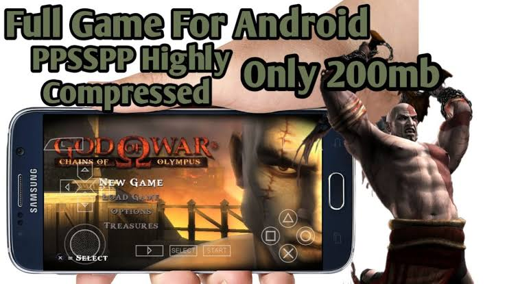 God Of War Chains Of Olympus ISO PSP Highly Compressed (200MB)