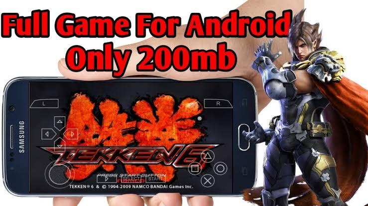 Tekken 6 ISO PSP Highly Compressed 200MB Download
