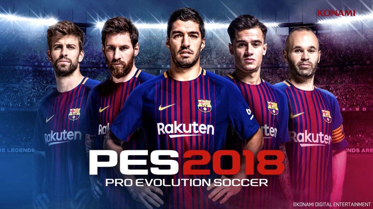 PES 2018 Pro Evolution Soccer For PC Free Download