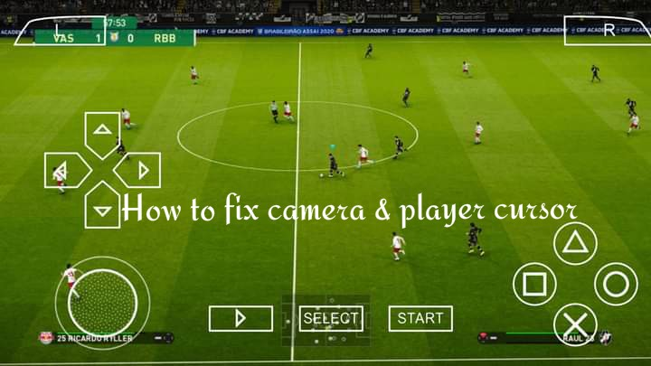 How To Fix Change PPSSPP PES Camera and Player Cursor