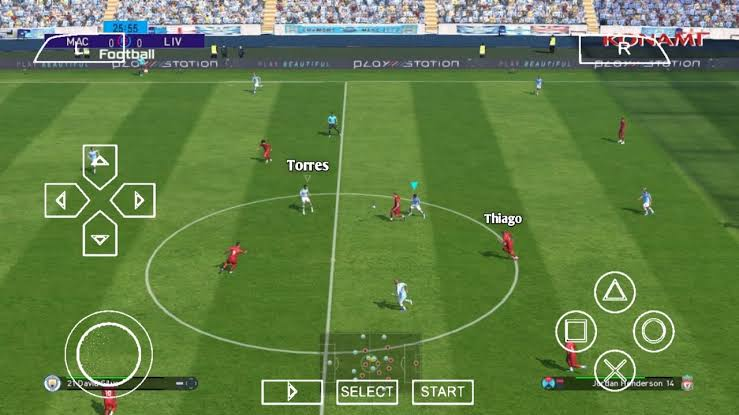 Download PES 2022 ISO File PPSSPP Android & PC