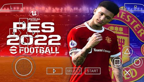 PES 2022 ISO PPSSPP Android Manchester United Edition