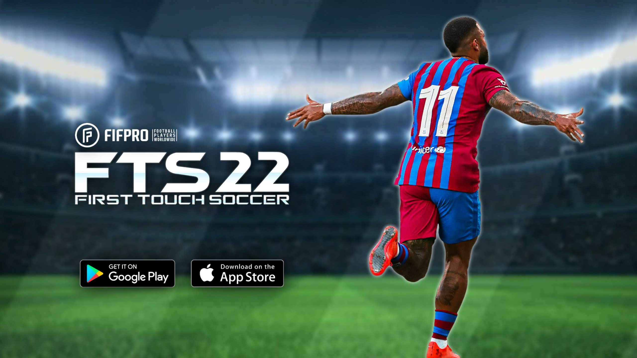 First Touch Soccer 2022 Android Offline 300MB Best Graphics