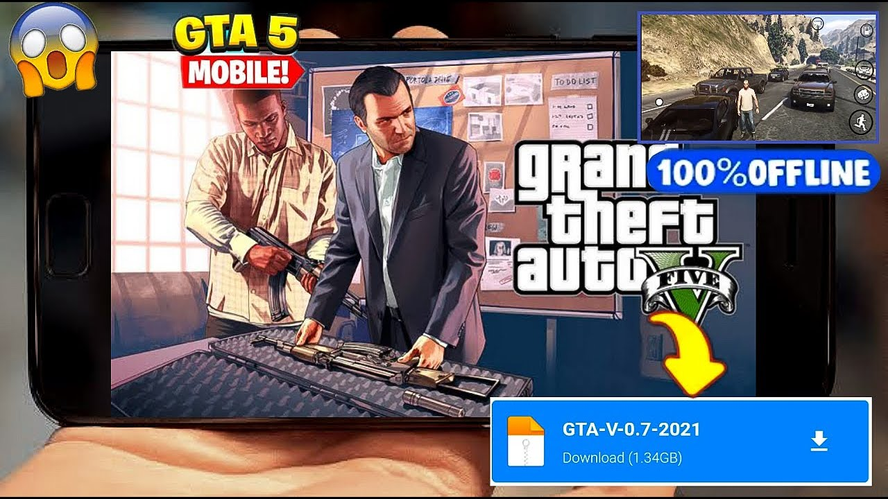How to Install and Play GTA 5 on Android Mobile
