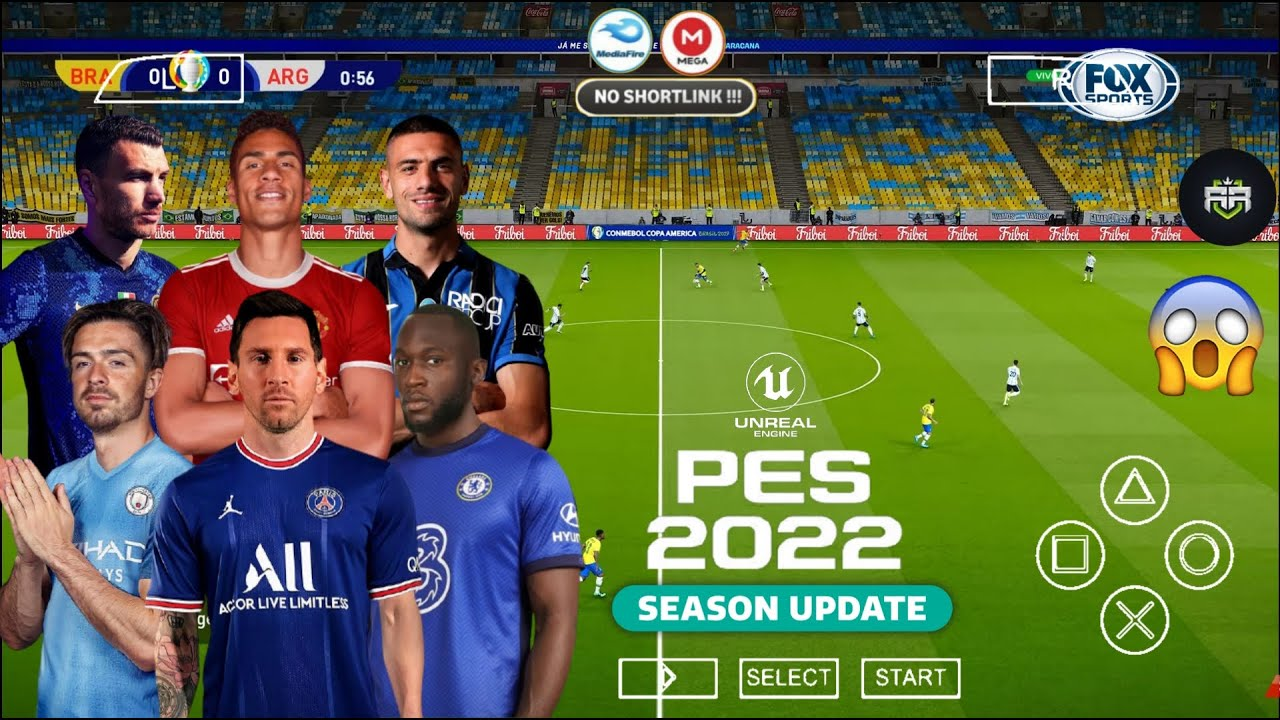 PES 2022 ISO PSP PPSSPP Android Offline Latest Version